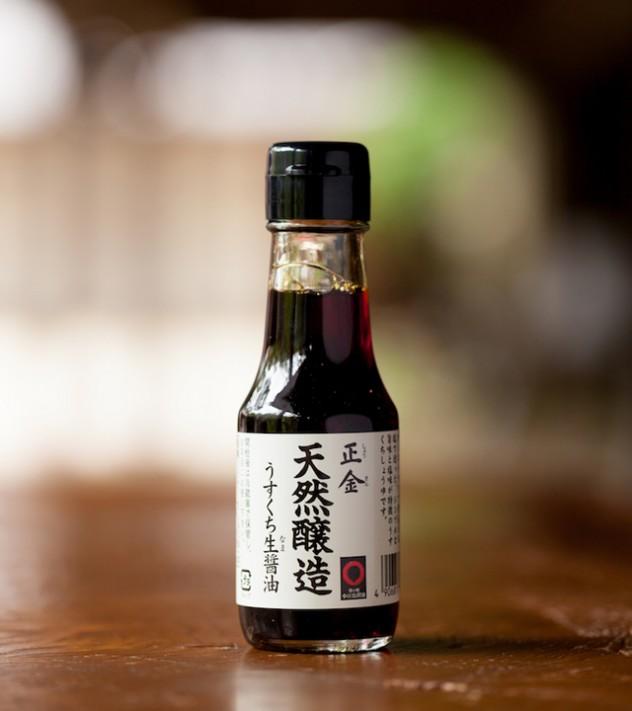 正金「天然醸造」うすくち生醤油