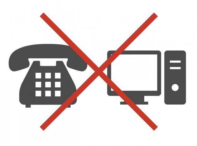 通信機器不具合